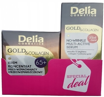 Set - Delia 65+ (f/cream/50ml + f/serum/10ml) — foto N1