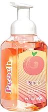 Profumi e cosmetici Schiuma lavamani - TasTea Edition Peach Foaming Hand Wash