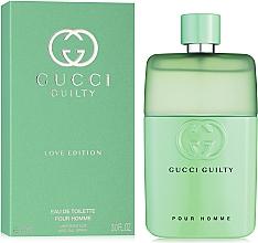 Gucci Guilty Love Edition Pour Homme - Eau de toilette — foto N2