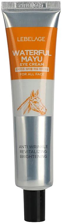 Crema contorno occhi idratante all'olio di cavallo - Lebelage Waterfull Mayu Eye Cream