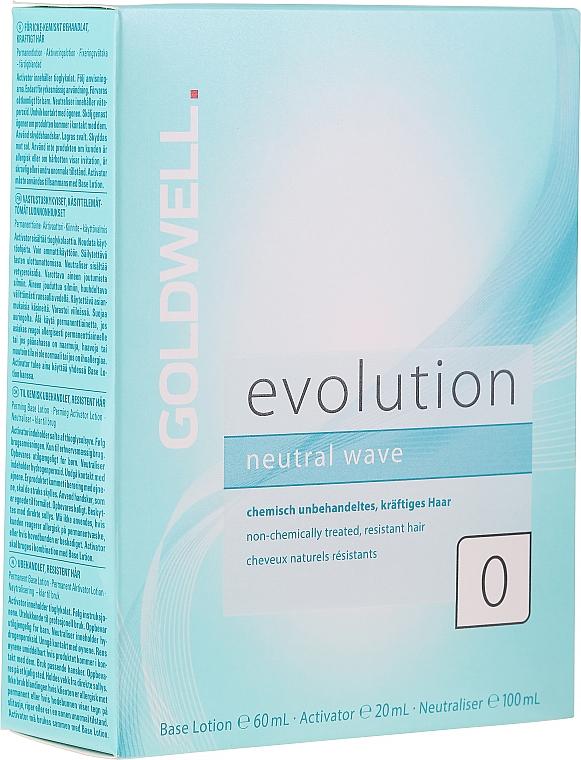 Set per permanente per capelli spessi - Goldwell Evolution Neutral Wave 0 Set — foto N1