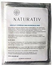 Profumi e cosmetici Maschera criogenica idratante e rinfrescante - Naturativ Face Mask