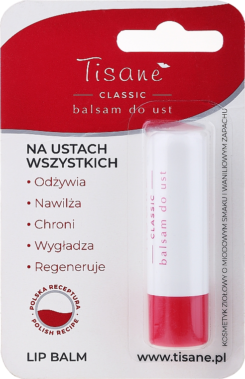 Balsamo labbra igienico blister - Farmapol Tisane Classic Lip Balm