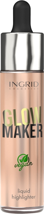 Illuminante liquido - Ingrid Cosmetics Glow Maker Bali Vegan Highlighter