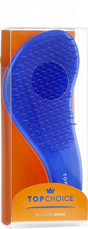 "Spazzola capelli ""Detangler"", 63831, arancione con blu - Top Choice — foto N2"