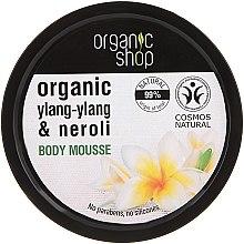 "Profumi e cosmetici Mousse corpo ""Fiore balinese"" - Organic Shop Organic Ylang-Ylang & Neroli Body Mousse"