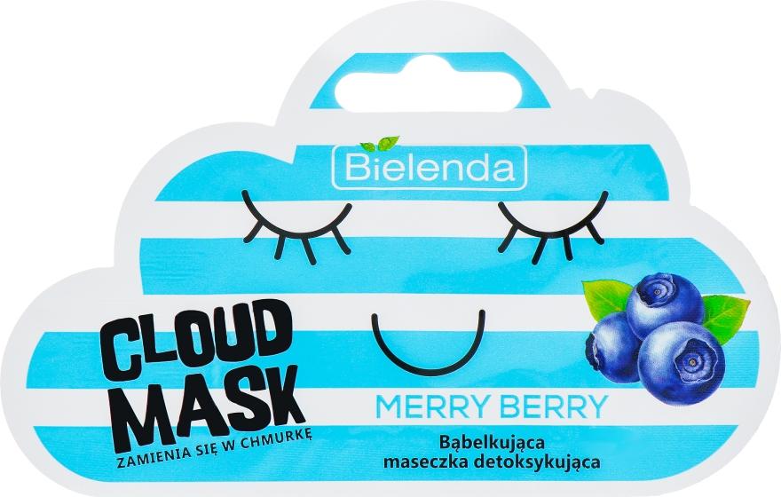 "Maschera viso ""Bacche"" - Bielenda Cloud Mask Merry Berry"