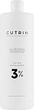 Profumi e cosmetici Agente ossidante 3% - Cutrin Aurora Color Developer