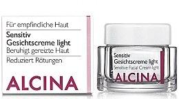Profumi e cosmetici Crema per la pelle sensibile - Alcina S Sensitive Facial Cream Light