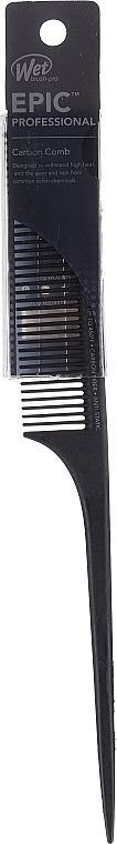 Spazzola per capelli, nera - Wet Brush Pro Epic Carbonite Tail Comb — foto N1