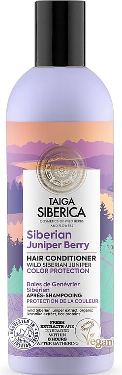 """Balsamo per capelli colorati """"Protezione del colore"""" - Natura Siberica Doctor Taiga Siberian Juniper Berry Hair Conditioner"""