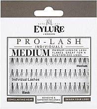 Profumi e cosmetici Ciglia finte - Eylure Black Individual Pro Medium Length Lashes