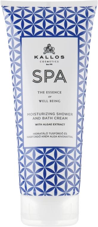 Bagnodoccia - Kallos Cosmetics SPA Moisturizing Shower and Bath Cream With Algae Extract