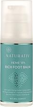 Profumi e cosmetici Balsamo per i piedi - Naturativ Home Spa Rich Foot Balm