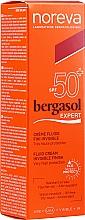 Profumi e cosmetici Fluido solare SPF50+ - Noreva Laboratoires Bergasol Expert IFluid Cream Invisible Finish SPF50+