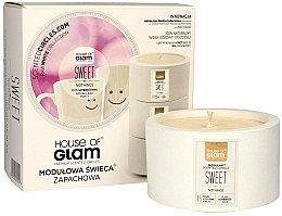 Profumi e cosmetici Candela profumata - House of Glam Sweet Nothings Candle
