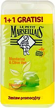 "Profumi e cosmetici Set ""Mandarin and Lime"" - Le Petit Marseillais (sh/gel/250ml + sh/gel/250ml)"