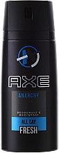 Profumi e cosmetici Deodorante spray - Axe Anarchy Deodorant Body Spray