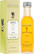 Profumi e cosmetici Olio per capelli lisci e lunghi - Alfaparf Precious Nature Oil For Long & Straight