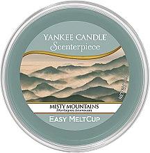 Profumi e cosmetici Cera aromatica - Yankee Candle Misty Mountains Scenterpiece Melt Cup