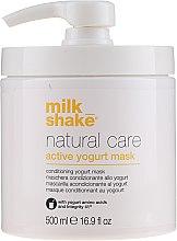 Profumi e cosmetici Maschera per capelli allo yogurt attivo - Milk Shake Natural Care Yogurt Mask