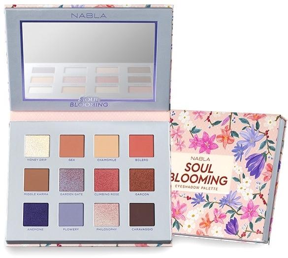 Palette ombretti - Nabla Soul Blooming Eyeshadow Palette