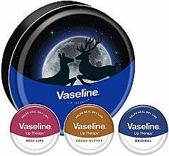 Profumi e cosmetici Set - Vaseline Lip Therapy Selection (balm/3x20g)