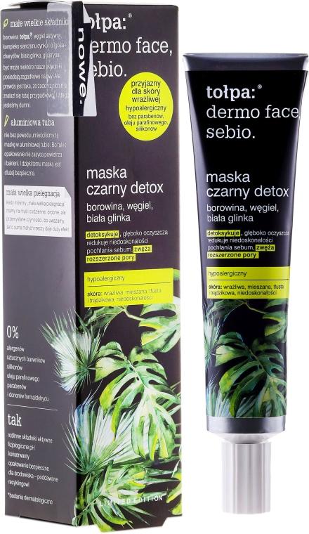 Maschera detox viso - Tolpa Dermo Face Sebio Black Detox Mask