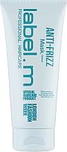 Profumi e cosmetici Maschera levigante - Label.m Anti-Frizz Mask
