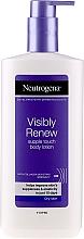 Profumi e cosmetici Lozione corpo per la pelle secca - Neutrogena Visibly Renew Body Lotion