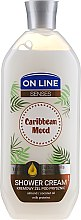 "Profumi e cosmetici Gel doccia ""Umore caraibico"" - On Line Caribbean Mood Shower Cream"