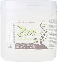 Profumi e cosmetici Maschera corpo idratante - Sezmar Collection Professional Zen Aromatherapy Body Mask