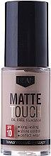 Profumi e cosmetici Fondotinta opaca - Hean Matte Touch Oil Free SPF10