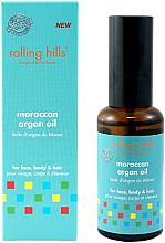 Profumi e cosmetici Olio di argan marocchino - Rolling Hills Moroccan Argan Oil