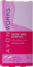 Profumi e cosmetici Strisce depilatorie per viso - Avon Works For Face & Brown