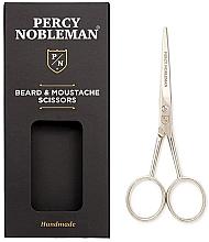 Profumi e cosmetici Forbici per barba e baffi - Percy Nobleman Beard & Moustache Scissors