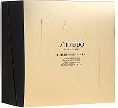 Profumi e cosmetici Set - Shiseido Future Solution LX Eye and Lip Contour Regenerating Cream Kit (cr/6ml+foam/15ml+eye/lip/cr/17ml)