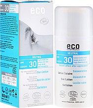 Profumi e cosmetici Lozione solare senza profumo - Eco Cosmetics Sun Lotion SPF 30