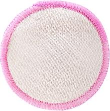 Profumi e cosmetici Dischetto struccante riutilizzabile, bianco-rosa - Deni Carte