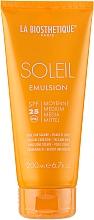 Profumi e cosmetici Emulsione solare waterproof - La Biosthetique Soleil Emulsion SPF 25