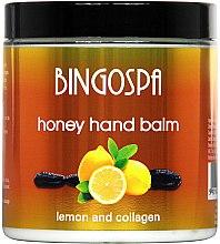 Profumi e cosmetici Balsamo mani al miele e limone - BingoSpa