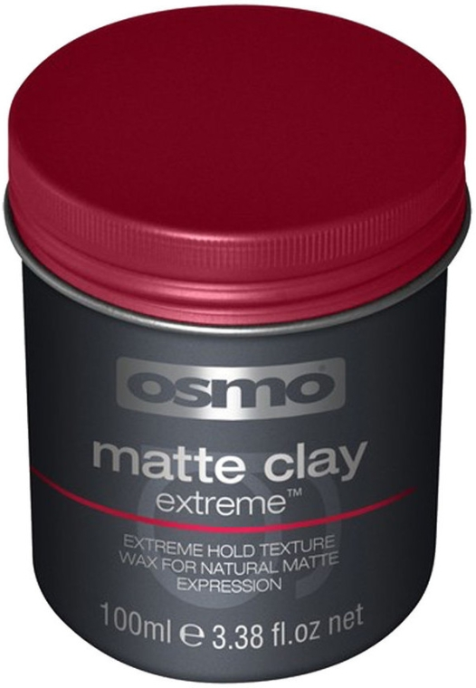 Argilla-cera per capelli con tenuta extra forte - Osmo Matte Clay Extreme