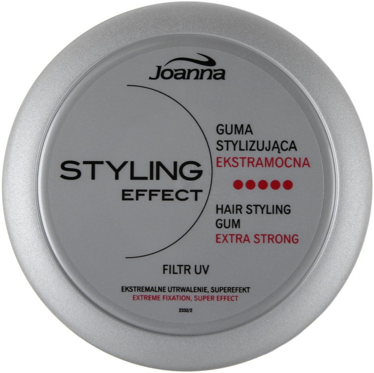 Elastico styling capelli - Joanna Styling Effect Hair Styling Gum Extra Strong