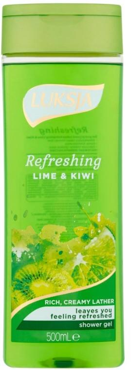 Gel doccia - Luksja Refreshing Lime & Kiwi Shower Gel