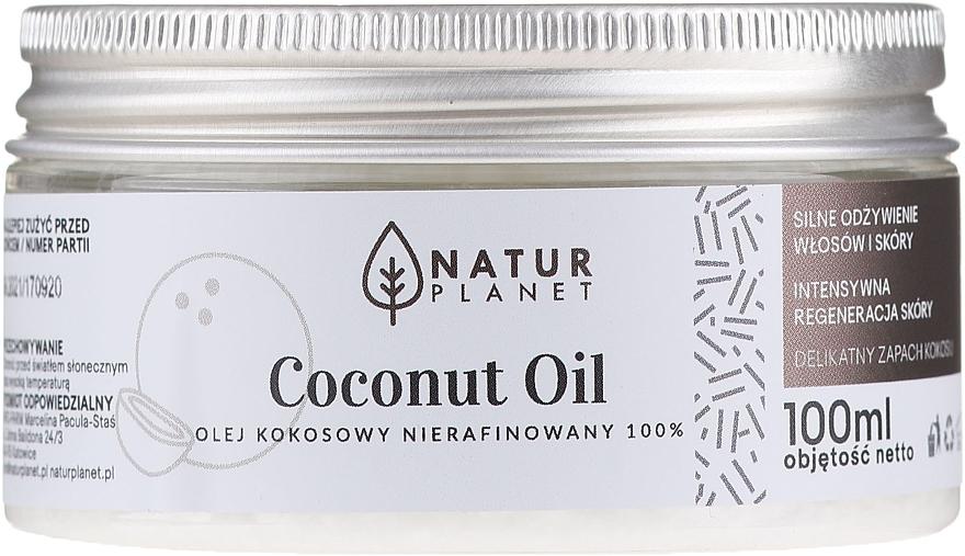 Olio di cocco non raffinato - Natur Planet Coconut Oil