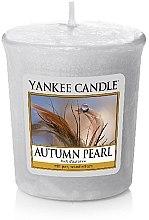 Profumi e cosmetici Candela profumata - Yankee Candle Scented Votive Autumn Pearl