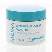 Profumi e cosmetici Cera fibrosa, fissazione naturale - Alcina Natural Struktur Faser Wachs