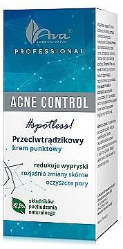 Crema ad azione locale - Ava Laboratorium Acne Control Professional Spotless Cream