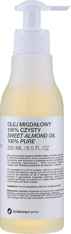 """Olio di Mandorle """"100% puro"""" - Botanicapharma Oil 100%"""