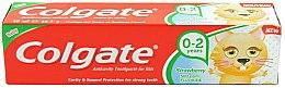 """Profumi e cosmetici Dentifricio """"Fragola"""" per bambini 0-2 anni - Colgate Strawberry Kids Tooth Paste"""